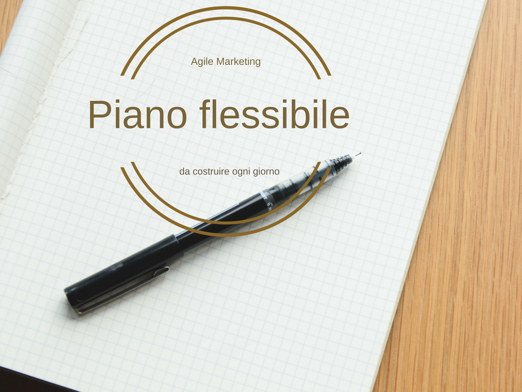 Piano marketing flessibile Agile