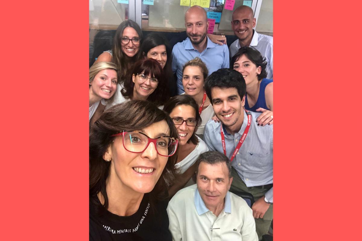 Canon Italia corso Agile Marketing con Deborah Ghisolfi